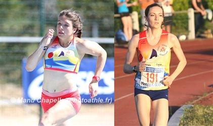 2 médaillées de bronze aux Frances Espoirs et Nationaux à Aubagne !