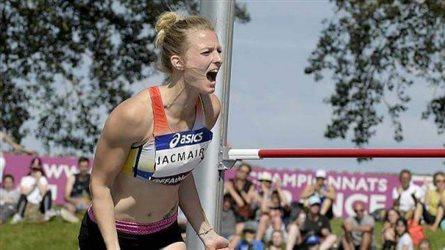 Médaille de Bronze pour Sandra JACMAIRE à l'Heptathlon avec 5626 pts au Championnat de France Elite !