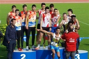 Médaille d'Argent pour le 4x400m au Championnat de France à Niort !